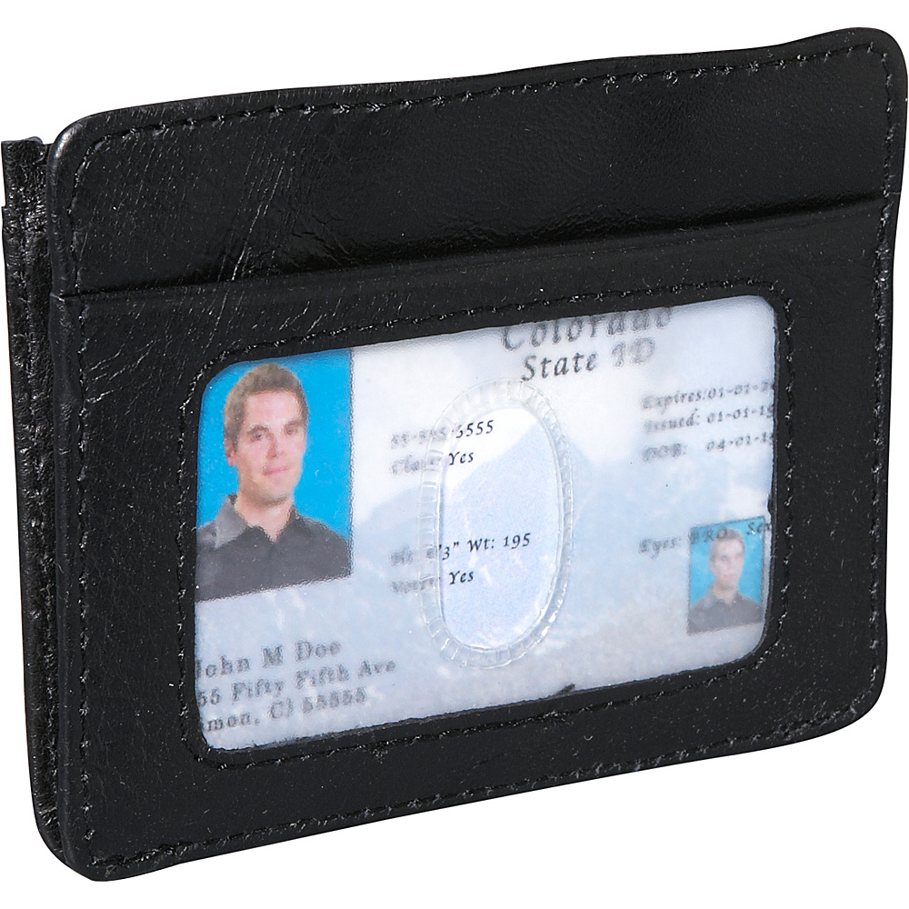 Travelon RFID Blocking Cash and Card Sleeve - Black - Work Bags & Briefcases, Men's Wallets