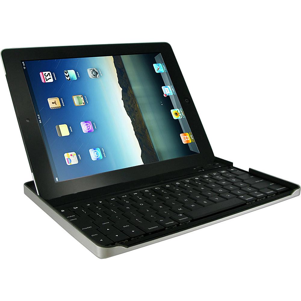 rooCASE Aluminum Bluetooth Keyboard Case for iPad 2