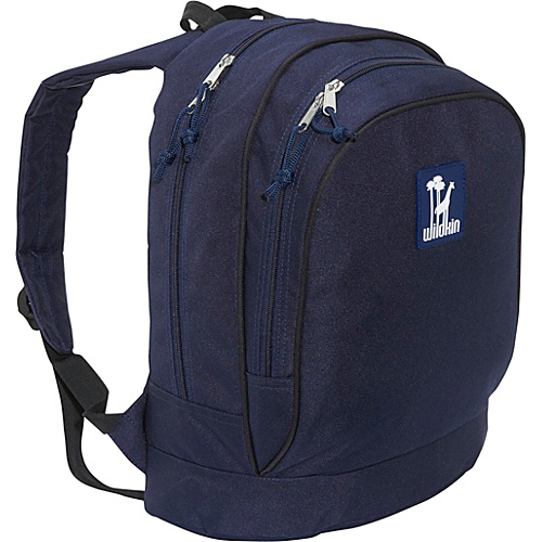 Wildkin Navy Blue Sidekick Backpack - Navy Blue