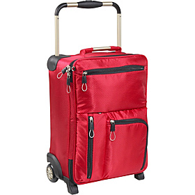 IT-0-1 Second Generation World's Lightest 2-Wheeled 16'' Carry On Red