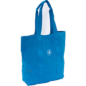 Peach Basket Tote Blue Leaf