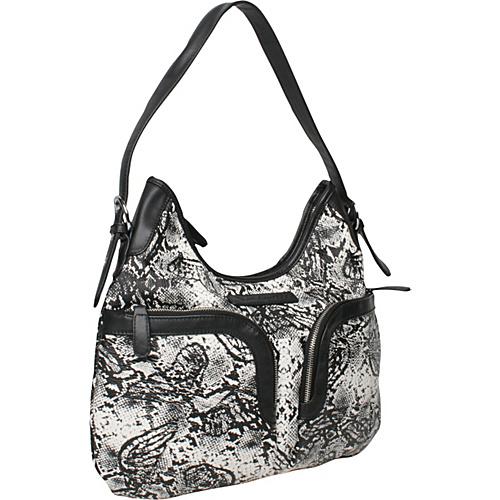 Make Love Not Trash Pocket Hobo - Shoulder Bag