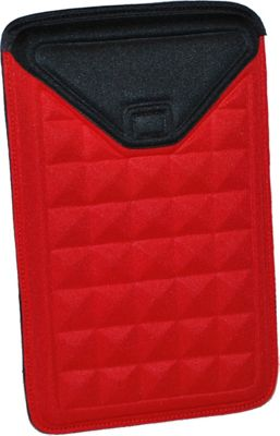 Nuo Molded Sleeve for Kindle Fire - Red/Black
