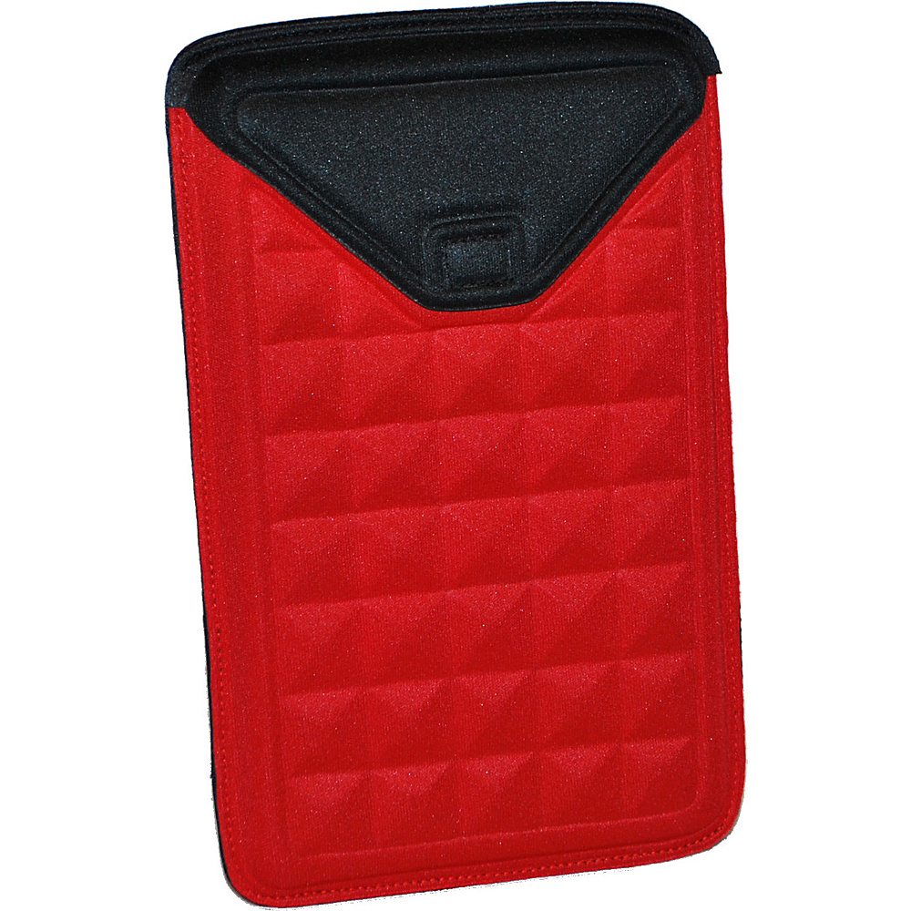 Nuo Molded Sleeve for Kindle Fire - Red/Black - Technology, Electronic Cases