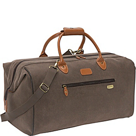 Edge Carpet Bag Brown