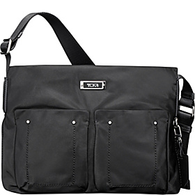 Voyageur Melbourne Top Zip Crossbody Black