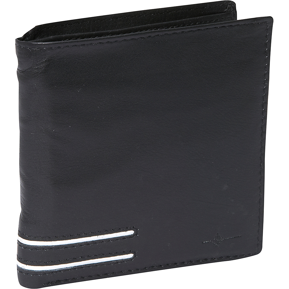 Buxton Luciano Convertible Cardex  - RFID - Black - Work Bags & Briefcases, Men's Wallets