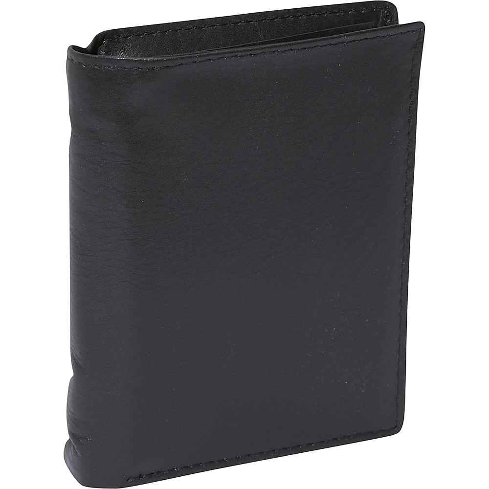Buxton Houston Deluxe Two-Fold - RFID - Black - Work Bags & Briefcases, Men's Wallets