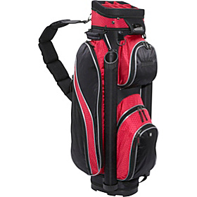 EX-250 Cart Bag Black Red
