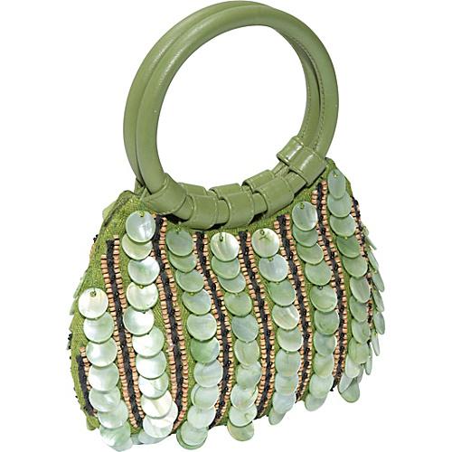 Moyna Handbags Mother of Pearl Beaded Bag - Clutch