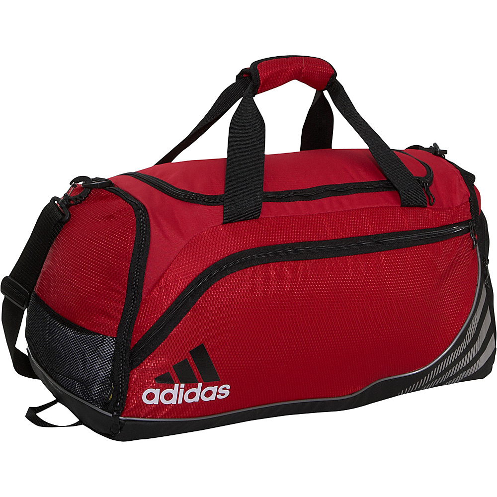 adidas Team Speed Duffel Medium - University Red - Duffels, Gym Duffels