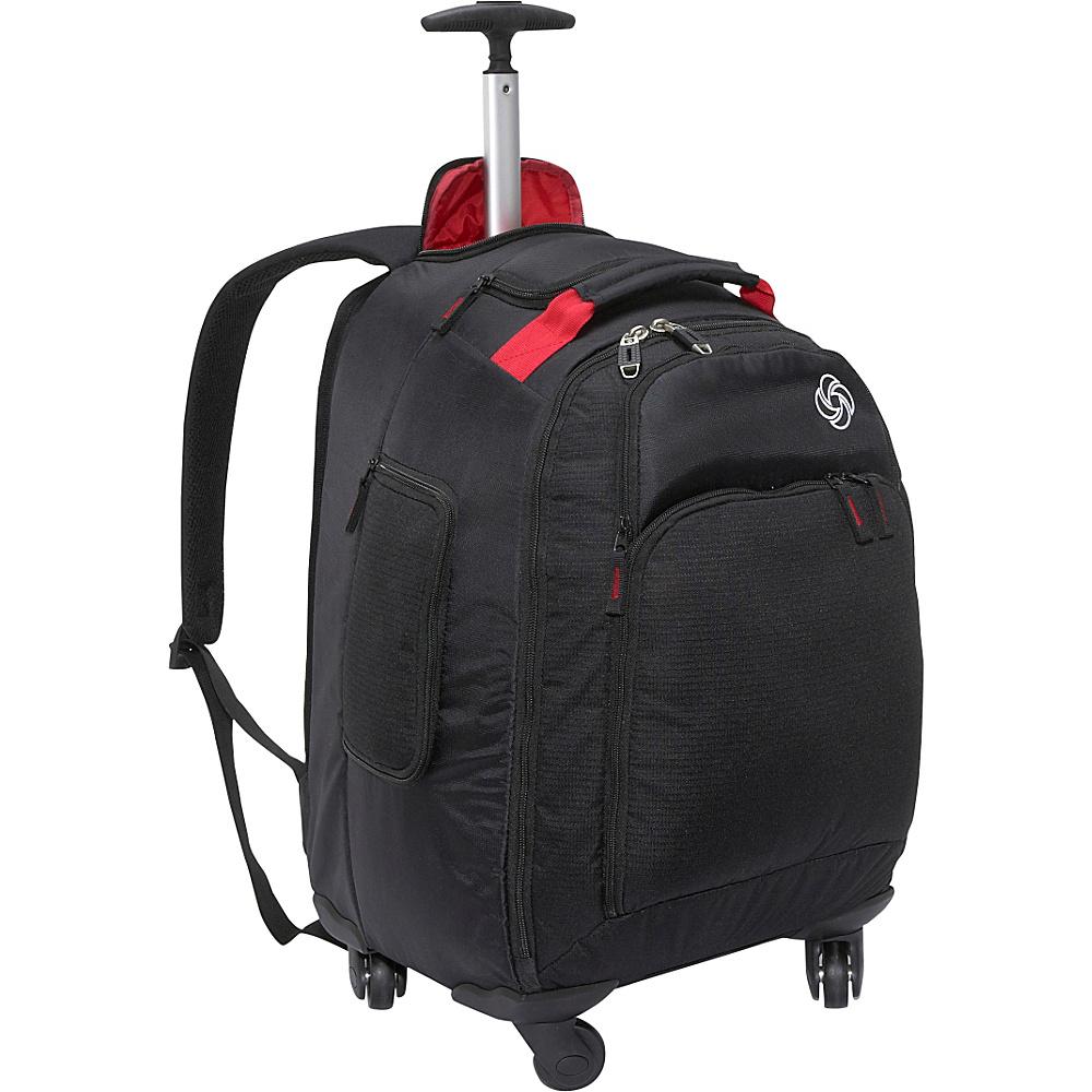 Samsonite MVS Spinner Backpack - 20 Black - Samsonite Rolling Backpacks - Backpacks, Rolling Backpacks