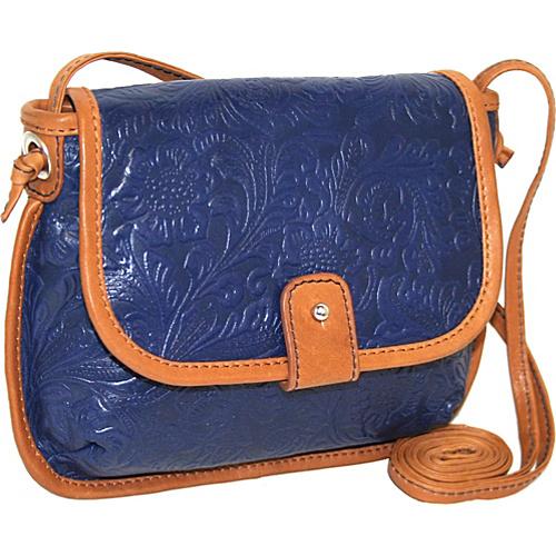 Nino Bossi Cross Body Mini Bag - Cobalt