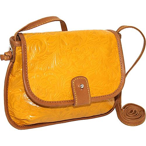 Nino Bossi Cross Body Mini Bag - Lemon