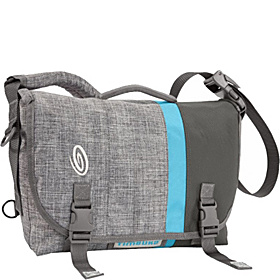D-Lux Laptop Racing Stripe Messenger - S Grey Texture/Grey Texture/Cold Blue/Carbon Grey