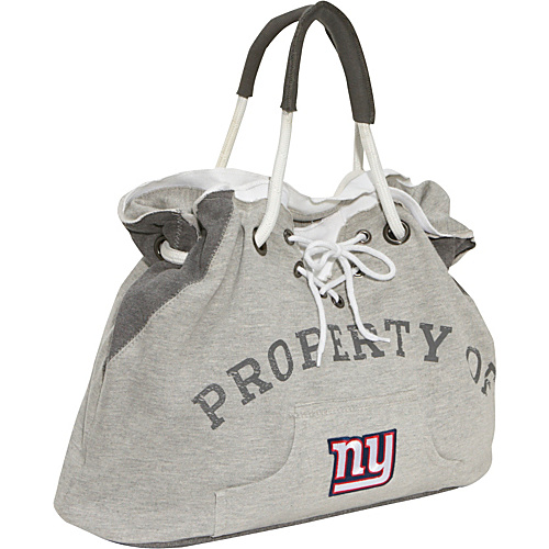 Littlearth NFL Hoodie Tote Grey/New York Giants New York Giants - Littlearth Fabric Handbags