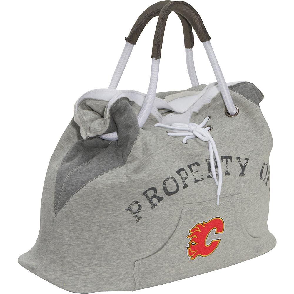 Littlearth NHL Hoodie Tote Grey/Calgary Flames Calgary Flames - Littlearth Fabric Handbags - Handbags, Fabric Handbags