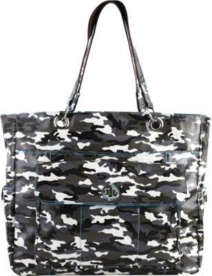 Urban Junket Korri Laptop Carry-All Grey Camouflage - Urban Junket Women's Business Bags