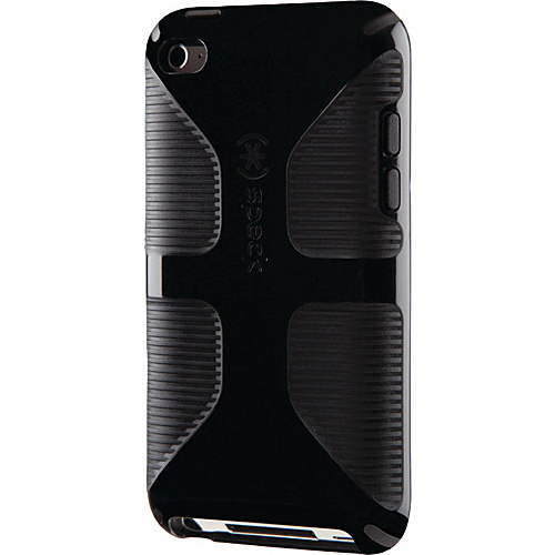 Speck iPod Touch 4G Candyshell Grip Case - Black/Black
