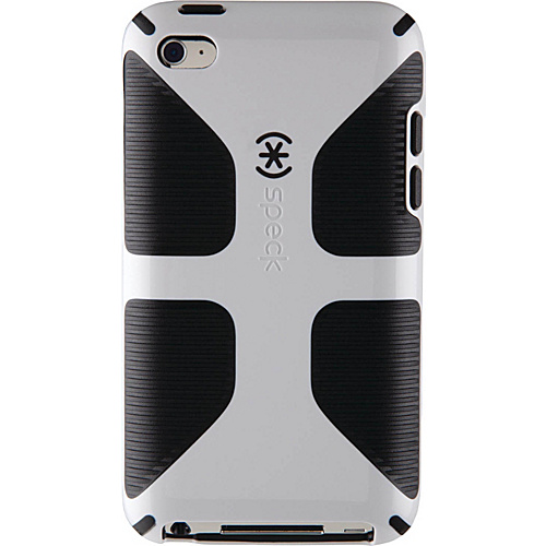 Speck iPod Touch 4G Candyshell Grip Case - White/Black