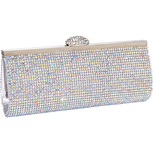 J. Furmani Fully Crystal Evening Bag AB Stone - J. Furmani Evening Bags