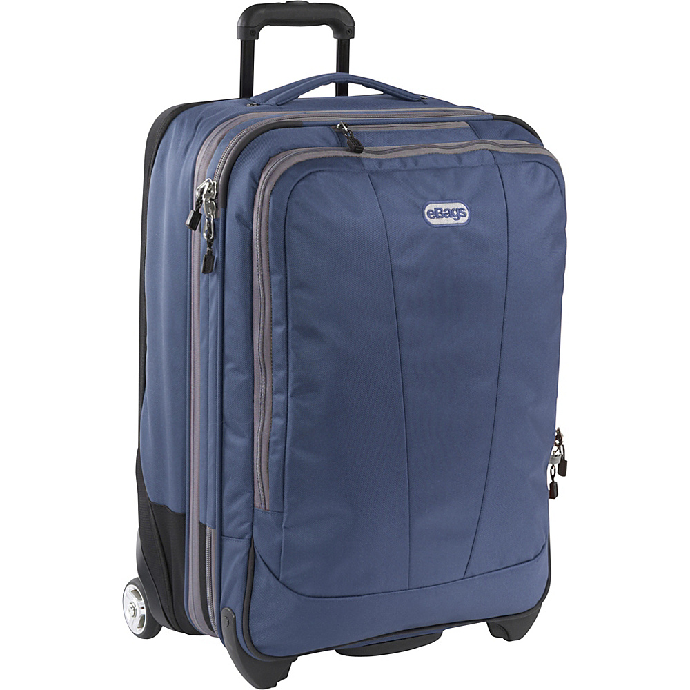 eBags TLS 25 Expandable Upright Blue Yonder - eBags Softside Checked - Luggage, Softside Checked