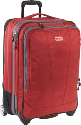 eBags TLS 25 inch Expandable Upright Sinful Red - eBags Softside Checked
