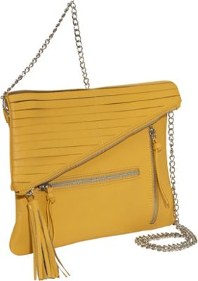 Romy Gold Tassel Chain Crossbody