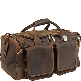 Distressed Hampton Duffel Distressed Brown