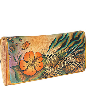 Accordion Flap Wallet - Python Safari Python Safari