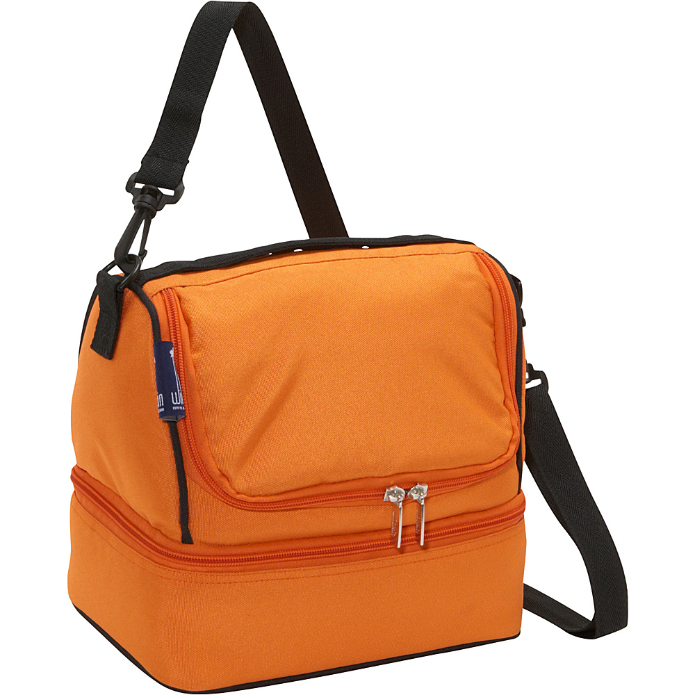 Wildkin Bengal Orange Double Decker Lunch Bag - Bengal - Travel Accessories, Travel Coolers