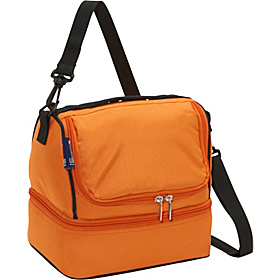 Bengal Orange Double Decker Lunch Bag Bengal Orange