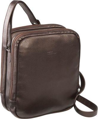 Derek Alexander Two Top Zip With Organizer Bronze - Derek Alexander Leather Handbags