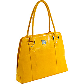 The Tina iPad Tote Mustard Yellow