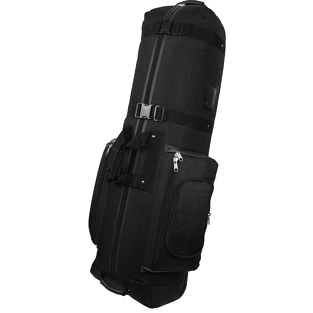 Caddy Daddy Golf Constrictor 2 Golf Travel Bag Cover Black/Gray - Caddy Daddy Golf Golf Bags