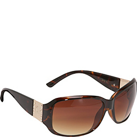 Classic Rectangular Sunglasses Brown