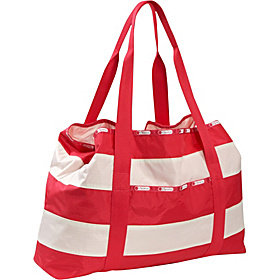 Sailor Beach Tote Popsicle Red Stripe