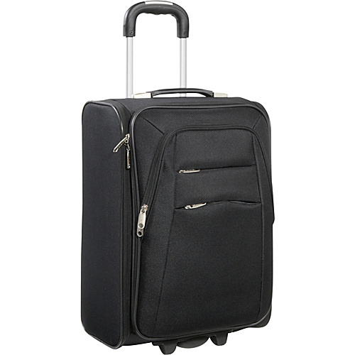 "Bellino 21"" Foldable Upright Black - Bellino Small Rolling Luggage"