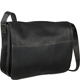 Full Flap Computer Messenger Black