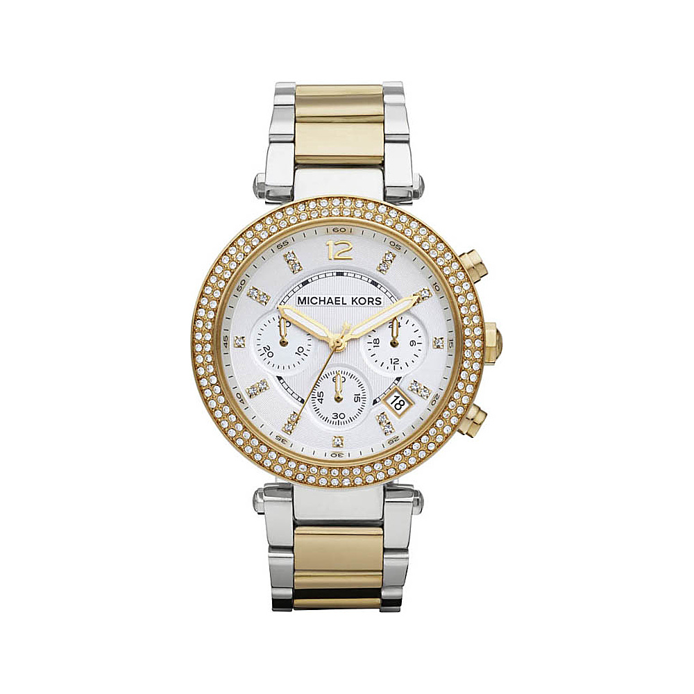 Michael Kors Watches Parker Two Tone