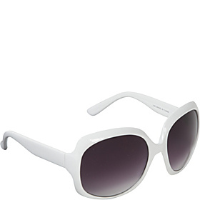 Big Lenses Fashion Sunglasses  White