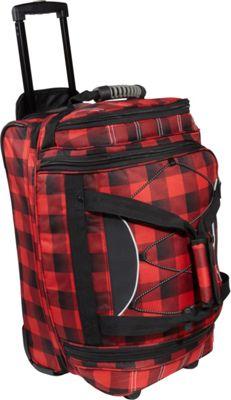 Athalon 21 inch Equipment CarryOn Duffel w/ Wheels Lumberjack - Athalon Travel Duffels