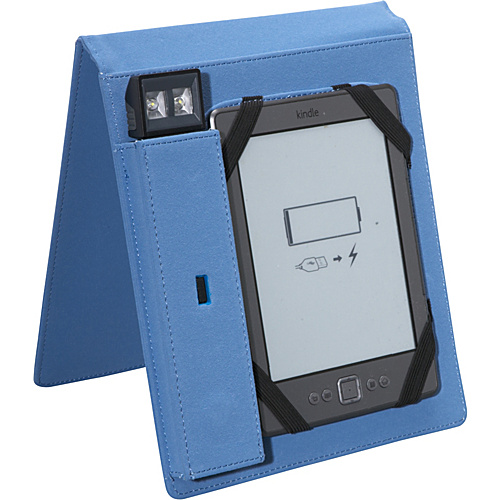 Periscope Cover & Light Flip for Kindle Wi-Fi, Kindle Touch, and nook Simple Touch Steel - Periscope Personal Electronic Cases