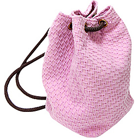 Marilyn Italian Wool Boucle Backpack  Pink