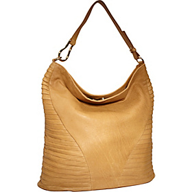 Toni Pleated Detail Hobo Mustard