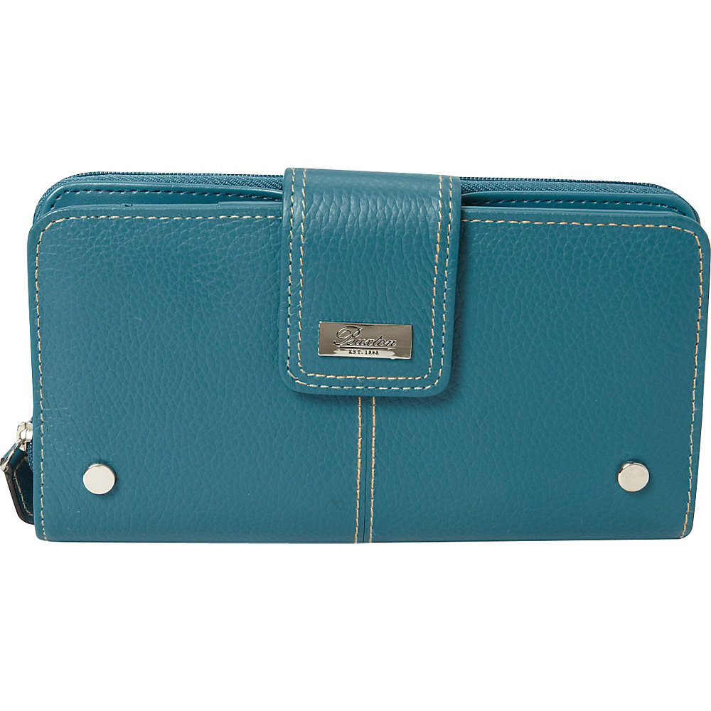 Buxton Westcott Zip Organizer Clutch Dragonfly - Buxton Womens Wallets - Women's SLG, Women's Wallets