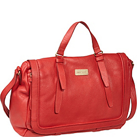 Apolline Zipped School Bag Coral