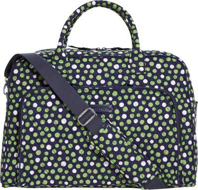 Vera Bradley Weekender Satchel Lucky Dots - Vera Bradley Luggage Totes and Satchels