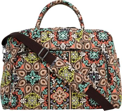 Vera Bradley Weekender Satchel Sierra - Vera Bradley Luggage Totes and Satchels