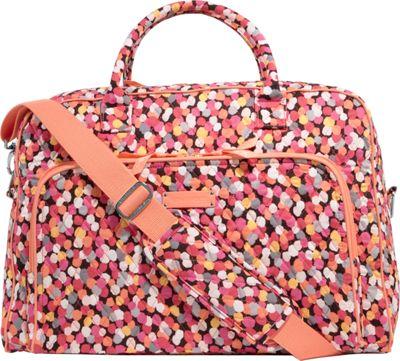Vera Bradley Weekender Satchel Pixie Confetti - Vera Bradley Luggage Totes and Satchels